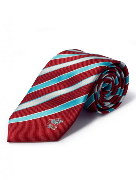 Club Crested Striped Tie