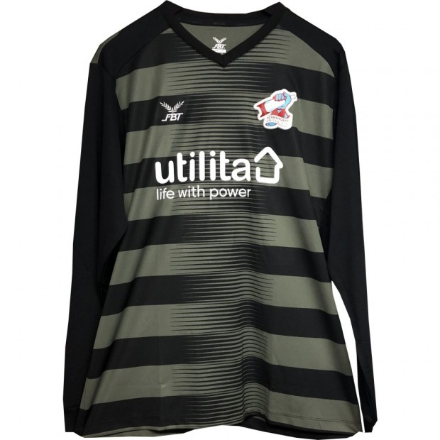 Adult GK Shirt 1920 Black/Grey