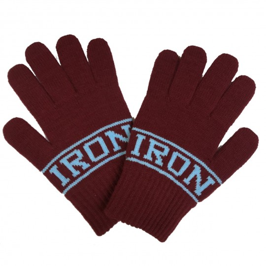 Iron Jacquard Gloves