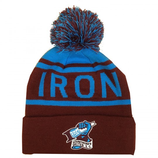 Iron Beanie Bobble Hat