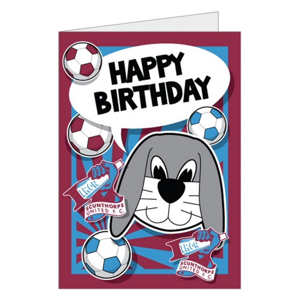 Happy Birthday Bunny Card