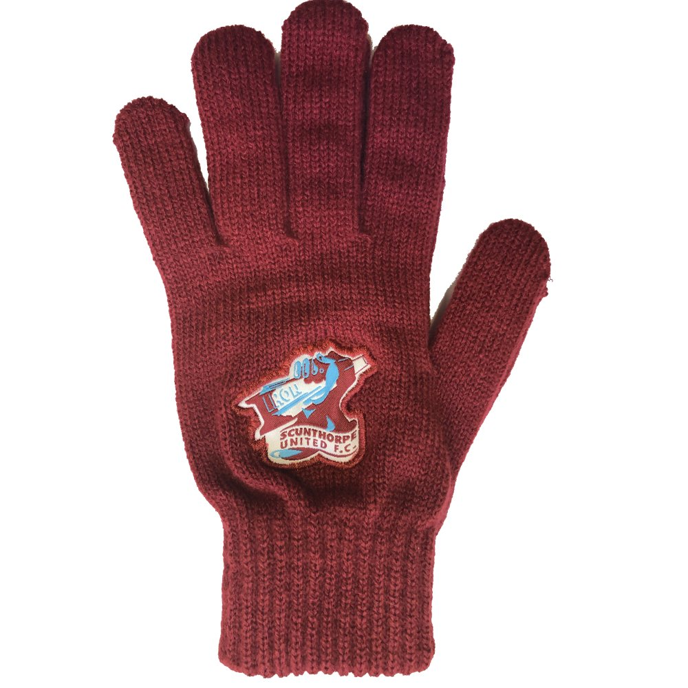 Crest Knitted Gloves